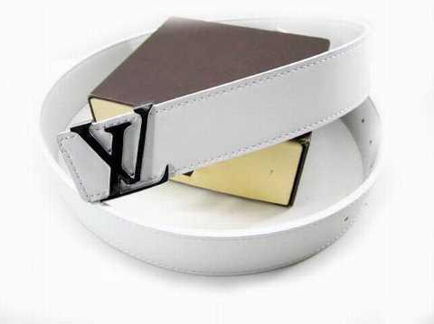 louis vuitton ceinture blanche 33e57db9934