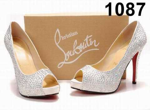 chaussure mariage louboutin pas cher